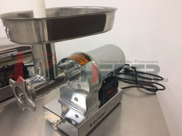 Stainless Steel Electric Meat Shredder Machine With Steel Coarse / Medium Cutting Plate